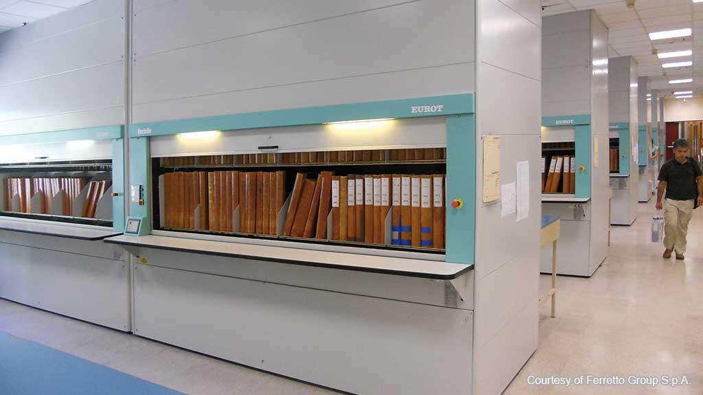 Вертикални архивни и складови Карусели
