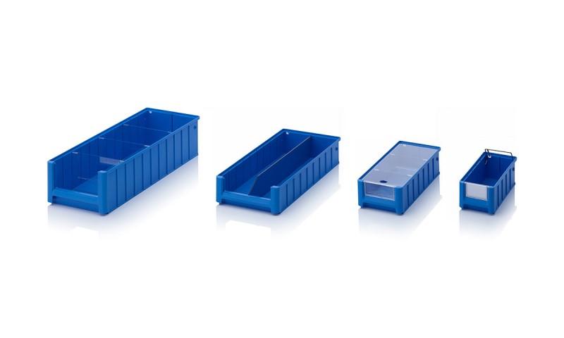 Пластмасови кутии за рафт с отворен фронт Rack and FLow