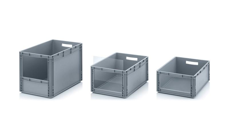 Пластмасови кутии с отворен фронт Евро формат